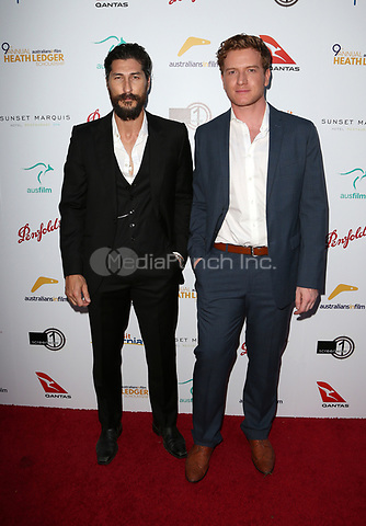 WEST HOLLYWOOD, CA June 01- Ryan Porter, Sean James Murphy, at The 9th Annual Australians In Film Heath Ledger Scholarship Dinner at Sunset Marquis Hotel, California on June 01, 2017. Credit: Faye Sadou/MediaPunch