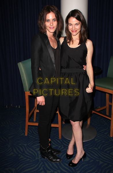 KATHERINE MOENNIG & LEISHA HAILEY.20th Annual GLAAD Media Awards Dinner held At The Nokia Theatre, California, USA,.April 19th 2009                                                                     .full length black dress suit jacket couple shoes boots .CAP/ADM/KB.©Kevan Brooks/Admedia/Capital Pictures