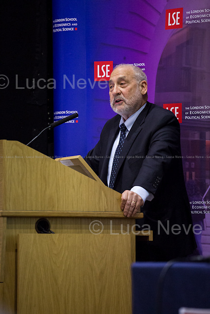 London, 19/05/2015. Today, LSE (London School of Economics and Political Studies) presented a public lecture called &quot;The Great Divide&quot; hosted by the author of the homonymous book, Prof. Joseph E. Stiglitz (American economist, Professor at Columbia University, recipient of the Nobel Memorial Prize in Economic Sciences in 2001 and the John Bates Clark Medal in 1979. He is the former Senior Vice President and Chief Economist of the World Bank, and he is also a former member and chairman of the US President's Council of Economic Advisers. Prof. Stiglitz is well known for his critical view of the management of globalization, free-market economists - whom he calls &quot;free market fundamentalists&quot; - , and some international institutions like the International Monetary Fund and the World Bank. In 2000, Stiglitz founded the Initiative for Policy Dialogue, IPD, a think tank on international development based at Columbia University). Chair of the event was Prof. Sir John Robert Hills CBE (British academic, he is a professor of Social Policy at the London School of Economics and has been director of the ESRC Research Centre for the Analysis of Social Exclusion since 1997. His work has focused on inequality).<br /> <br /> Here there is the link to podcast and video of the lecture: http://bit.ly/1KoIHRW