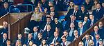 14.09.2019 Rangers v Livingston: Mrs Gerrard in the directors boxx