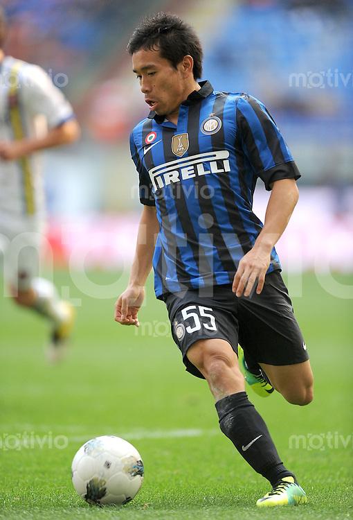 FUSSBALL INTERNATIONAL   SERIE A   SAISON 2011/2012    Inter Mailand - Chievoverona  23.10.2011 Yuto Nagatomo (Inter Mailand)