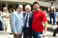 Toronto (ON), June 18, 2007 - RAINBOW FLAG RAISING AND PROCLAMATION. Kicking off Pride Week in Toronto with the raising of the rainbow flag and reading of the proclamation at Toronto City Hall's Nathan Philips Square.<br />