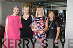 Laida?n Hynes, Joanne Hynes and Caroline Matthews and Melenie Morris at the Kerry Fashion Weekend Fashion Awards Lunch at the Aghadoe Heights Hotel, Killarney on Sunday.