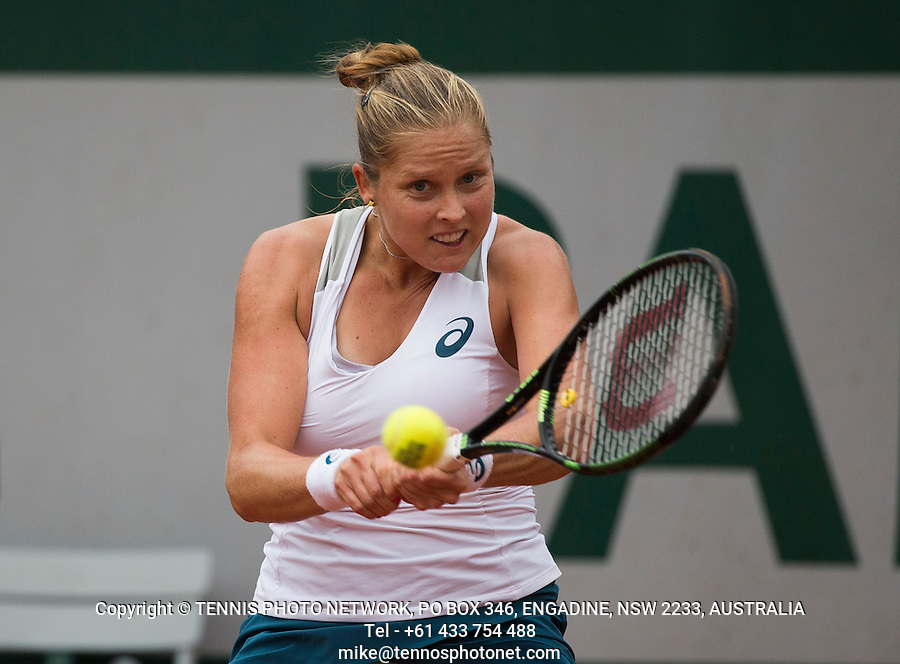 SHELBY ROGERS (USA)<br /> <br /> TENNIS - FRENCH OPEN - ROLAND GARROS - ATP - WTA - ITF - GRAND SLAM - CHAMPIONSHIPS - PARIS - FRANCE - 2016  <br /> <br /> <br /> <br /> &copy; TENNIS PHOTO NETWORK