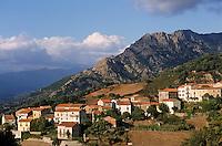 France/Corse/Corse-du-Sud/2A/Cuttoli-Corticchi ato ou Cuttuli-Curtichjatu: Le village