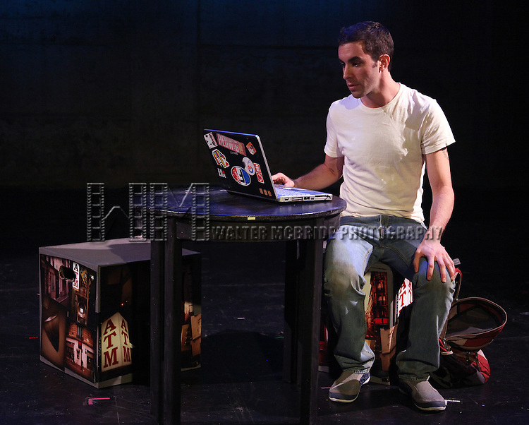 Dan Heching.starring in Dan Heching Presents 'Sammy Gets Mugged'.at the Living Theatre in New York City.