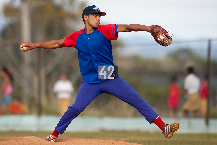 BASEBALL - POLES BASEBALL FRANCE - TRAINING CAMP CUBA - HAVANA (CUBA) - 13 TO 23/02/2009 - CUBAN PITCHER