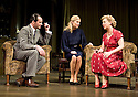 Flare Path by Terence Rattigan, directed by Trevor Nunn. With James Purefoy as Peter Kyle, Sienna Miller as Patricia Warren [Mrs Graham] ,Sheridan Smith as Countess Skriczevinshy. Opens at The Apollo  Theatre  on 14/3/11 . CREDIT Geraint Lewis