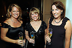 From left: Kiki Wilson, Kelley Lubanko and Julie Pincus at the Dancing with the Houston Stars event benefitting the Houston Ballet at the home of John and Becca Thrash  Friday Sept. 24, 2010. (Dave Rossman/For the Chronicle)