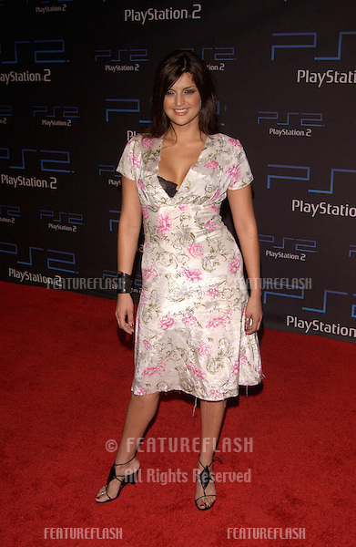 Actress JENNIFER GIMENEZ at one-year anniversary party, in Los Angeles, for the Sony Playstation  2..18OCT2001. © Paul Smith/Featureflash