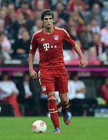 FUSSBALL   1. BUNDESLIGA  SAISON 2012/2013   2. Spieltag FC Bayern Muenchen - VfB Stuttgart      02.09.2012  Javi Martinez (FC Bayern Muenchen)