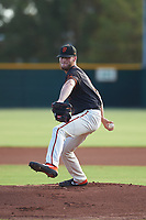 AZL Giants Black starting pitcher Cole Waites (82) during an Arizona League game against the AZL Giants Orange on July 19, 2019 at the Giants Baseball Complex in Scottsdale, Arizona. The AZL Giants Black defeated the AZL Giants Orange 8-5. (Zachary Lucy/Four Seam Images)