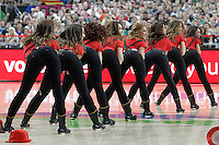 Cheerleaders during 2014 FIBA Basketball World Cup Quarter-Finals match.September 9,2014.(ALTERPHOTOS/Acero)