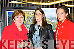 Kathleen O'Connor, Noeleen O'Donnell and Máire Quinlan Killarney at the Killarney Rotary club Wine and Art exhibition in the Malton Hotel on Saturday night..