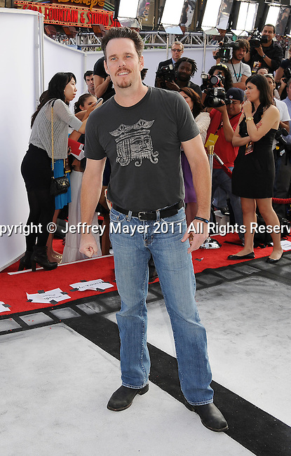 """HOLLYWOOD, CA - SEPTEMBER 25: Kevin Dillon attends Premiere Of """"Iris"""" - A Journey Into The World Of Cinema By Cirque du Soleil at the Kodak Theatre on September 25, 2011 in Hollywood, California."""