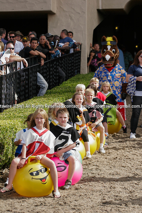 Scenes at Del Mar Race Course in Del Mar, California on August 4, 2012.