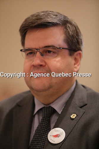 le maire Denis Coderre<br /> , 2016<br /> <br /> PHOTO : Agence Quebec Presse