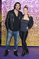 "Graziano Di Prima and Giada Lini<br /> arriving for the ""Bohemian Rhapsody"" World premiere at Wembley Arena, London<br /> <br /> ©Ash Knotek  D3455  23/10/2018"