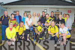 Launching the 4th Annual Currow Cycling Club Charity fun Cycle which will be held in Castleisland on 5th September in aid of the Castleisland Day Care Centre in the Centre on Monday evening was front row l-r: Catriona O@Connor, Pat O'Shea, Rita McCarthy, Adrian Shanahan, Mike Ahern, Tom Kenny, Paudie McCarthy. Back row: Mike Fleming, Nora Hogan, John Pender, Sheila Greaney, Monica Prenderville, David Costello, John Breen, Shane O'Neill, Maxi Fleming, Eamon Breen and Joan Walsh