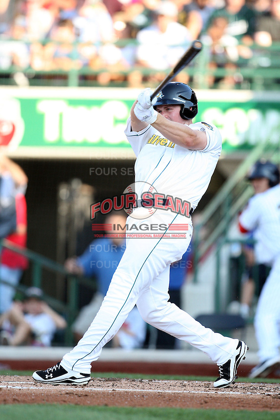 South bend Silver Hawks Matt Davidson during the Midwest League All Star Game at Parkview Field in Fort Wayne, IN. June 22, 2010. Photo By Chris Proctor/Four Seam Images