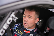14th April 2018, Circuit de Barcelona-Catalunya, Barcelona, Spain; FIA World Rallycross Championship; Sebastien Loeb 9 before the start inside his Peugeot