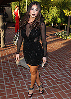 BURBANK, CA, USA - JUNE 26: Singer Mikalah Gordon arrives at the 40th Annual Saturn Awards held at The Castaway on June 26, 2014 in Burbank, California, United States. (Photo by Xavier Collin/Celebrity Monitor)