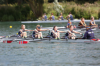 Race: 122: W J15 4x+  Final<br /> <br /> Peterborough Summer Regatta 2017 - Sunday<br /> <br /> To purchase this photo, or to see pricing information for Prints and Downloads, click the blue 'Add to Cart' button at the top-right of the page.