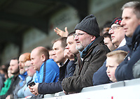 Bolton Wanderers Fans look on unhappiy<br /> <br /> Photographer Mick Walker/CameraSport<br /> <br /> The EFL Sky Bet Championship - Burton Albion v Bolton Wanderers - Saturday 28th April 2018 - Pirelli Stadium - Burton upon Trent<br /> <br /> World Copyright &copy; 2018 CameraSport. All rights reserved. 43 Linden Ave. Countesthorpe. Leicester. England. LE8 5PG - Tel: +44 (0) 116 277 4147 - admin@camerasport.com - www.camerasport.com