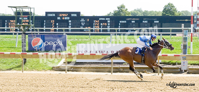 Big Blue Nation winning at Delaware Park on 9/4/14