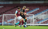 West Ham United supporters say farewell to the Boleyn ground playing a friendly match on the pitch at the Boleyn Ground, London, England on 20 May 2016. Photo by Andy Rowland.