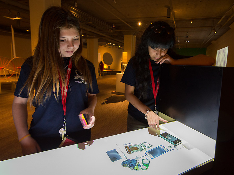 Houston ISD EMERGE students tour Massachusetts Institute of Technology and the MIT Museum, June 3, 2014.