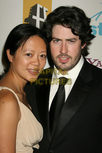 JASON REITMAN & GUEST.11th Annual Hollywood Awards Gala Ceremony held at the Beverly Hilton Hotel, Beverly Hills, California, USA..October 22nd, 2007.headshot portrait black stubble facial hair .CAP/ADM/RE.©Russ Elliot/AdMedia/Capital Pictures.