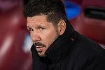 Coach Diego Simeone of Atletico de Madrid prior to the 2016-17 UEFA Champions League match between Atletico Madrid and FC Rostov at the Vicente Calderon Stadium on 01 November 2016 in Madrid, Spain. Photo by Diego Gonzalez Souto / Power Sport Images