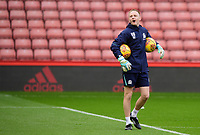 Blackburn Rovers' goalkeeping coach Ben Benson during the pre-match warm-up<br /> <br /> Photographer Chris Vaughan/CameraSport<br /> <br /> The EFL Sky Bet Championship - Sheffield United v Blackburn Rovers - Saturday 29th December 2018 - Bramall Lane - Sheffield<br /> <br /> World Copyright © 2018 CameraSport. All rights reserved. 43 Linden Ave. Countesthorpe. Leicester. England. LE8 5PG - Tel: +44 (0) 116 277 4147 - admin@camerasport.com - www.camerasport.com