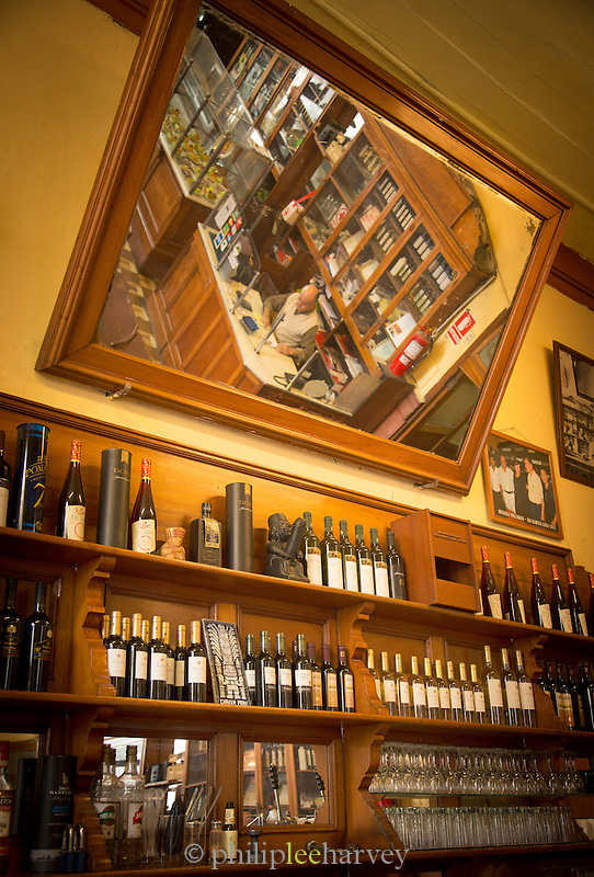 Interior of the Bar Cordano, Lima, Peru, South America