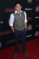 "HOLLYWOOD, LOS ANGELES, CA, USA - MARCH 20: Maynard Alvardo at the Los Angeles Premiere Of Pantelion Films And Participant Media's ""Cesar Chavez"" held at TCL Chinese Theatre on March 20, 2014 in Hollywood, Los Angeles, California, United States. (Photo by David Acosta/Celebrity Monitor)"
