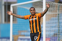 Hull City's Josh Magennis<br /> <br /> Photographer Rob Newell/CameraSport<br /> <br /> The EFL Sky Bet League One - Gillingham v Hull City - Saturday September 12th 2020 - Priestfield Stadium - Gillingham<br /> <br /> World Copyright © 2020 CameraSport. All rights reserved. 43 Linden Ave. Countesthorpe. Leicester. England. LE8 5PG - Tel: +44 (0) 116 277 4147 - admin@camerasport.com - www.camerasport.com