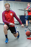 Carson, CA - January 25, 2017: The USMNT train during their annual winter training camp at StubHub Center.