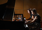 1304-35 071.CR2<br /> <br /> Graduating BYU students Hilary Heideman Mauler and Tiffany Winkel Delgado won the United States International Duo Piano Competition.<br /> <br /> April 17, 2013<br /> <br /> Photography by Mark A. Philbrick<br /> <br /> Copyright BYU Photo 2013<br /> All Rights Reserved<br /> photo@byu.edu  (801)422-7322