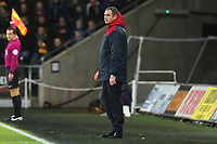 Swansea City manager Paul Clement during the Premier League match between Swansea City and Manchester City at the Liberty Stadium, Swansea, Wales, UK. Wednesday 13 December 2017