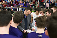 Image, Friday, February 14, 2020 during a basketball game at Elkins High School in Elkins. Check out nwaonline.com/prepbball/ for today's photo gallery.<br /> (NWA Democrat-Gazette/Charlie Kaijo)