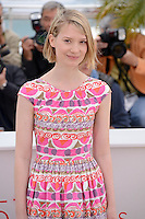 "Mia Wasikowska  attending the ""Lawless"" Photocall during the 65th annual International Cannes Film Festival in Cannes, France, 19th May 2012...Credit: Timm/face to face /MediaPunch Inc. ***FOR USA ONLY***"