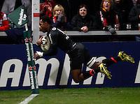Photo: Richard Lane/Richard Lane Photography. Gloucester Rugby v Stade Toulouse. Heineken Cup. 20/01/2012.