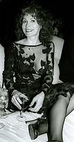 Anita Morris 1982<br /> Photo By John Barrett/PHOTOlink