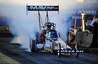 17-19 February 2012, Chandler, Arizona, USA, Brandon Bernstein, MAV TV, Lucas Oil, top fuel dragster @2012, Mark J. Rebilas
