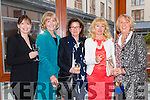 """Norrie Horgan, Dean McGuire,Tina Wallace, Ann Kissane and Mary Dowling at the """"Fashion Fusion"""" in aid of Duggan Family House fire Appeal in the Fels Point Hotel on Saturday"""