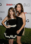 HOLLYWOOD, CA. - September 25: Kay Panabaker and Danielle Panabaker arrive at the 7th Annual Teen Vogue Young Hollywood Party at Milk Studios on September 25, 2009 in Hollywood, California.