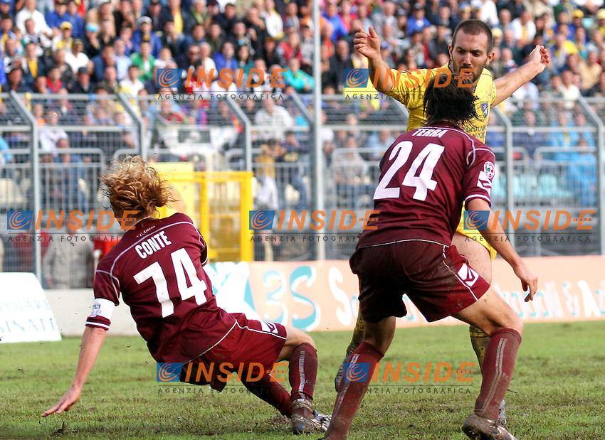 Frosinone 16-09-2006 Stadio Comunale,Serie B Tim:Frosinone-Arezzo 0-0<br /> Nella foto Massimo Margiotta <br /> Photo Serena Cremaschi Inside