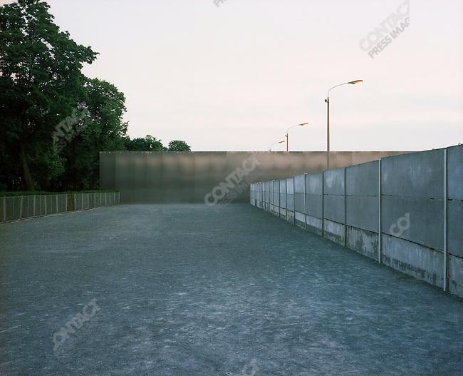Wall Memorial, Berlin, Germany, August 2004