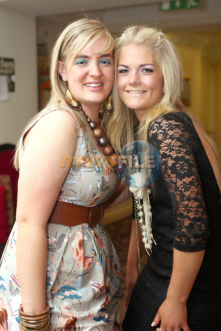 Nicola Pierce and Emma Cahill at their  joint birthday party in Barocca...Photo NEWSFILE/Jenny Matthews.(Photo credit should read Jenny Matthews/NEWSFILE)....This Picture has been sent you under the condtions enclosed by:.Newsfile Ltd..The Studio,.Millmount Abbey,.Drogheda,.Co Meath..Ireland..Tel: +353(0)41-9871240.Fax: +353(0)41-9871260.GSM: +353(0)86-2500958.email: pictures@newsfile.ie.www.newsfile.ie.FTP: 193.120.102.198.